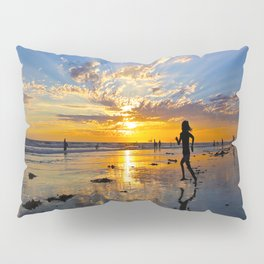 Chasing Sunset  ~ Huntington Beach  ( 9/7/13 ) Pillow Sham