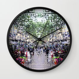 feeling proximity without unrest or unruly burdens Wall Clock
