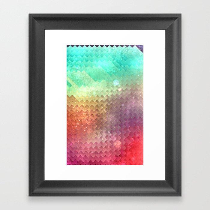 Sskyy myllt Framed Art Print