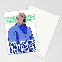 Steve Ballmer: Developers Developers! Stationery Cards