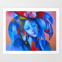 ruben Art Prints featuring ruben 01 by  Alexandra's Collection