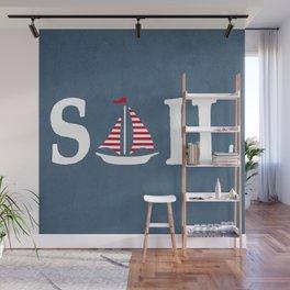 Sail Wall Mural