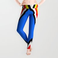 business Leggings featuring Frisky Business by Naked N Pieces
