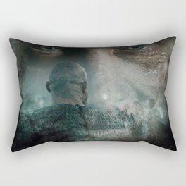 Forgetfulness Of Death Rectangular Pillow