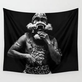Ramayana ballet - Scream Wall Tapestry