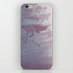 Forest Fog - Snowy Mountain Trees at Sunset iPhone & iPod Skin
