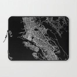 oakland map california Laptop Sleeve