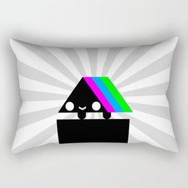 Frenetic Kinetic Rectangular Pillow