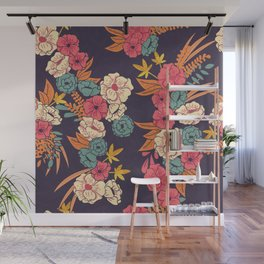 Jungle Pattern 006 Wall Mural