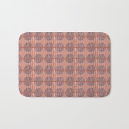 Circles and Stripes Bath Mat