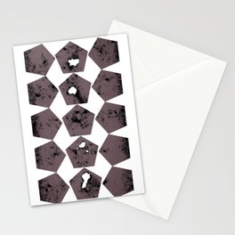 Pentagons of May 15 Stationery Cards