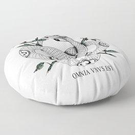 Omnia vnvs est Floor Pillow