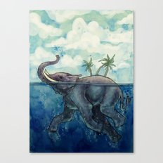 Elephant Island Canvas Print