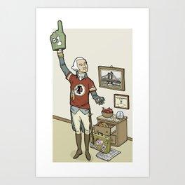 President Washington Art Print