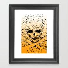 10000 birds  Framed Art Print