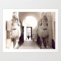giants Art Prints featuring giants by jenny mckinnon