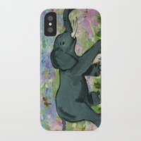 baby elephant iPhone & iPod Cases featuring Baby Elephant by gretzky