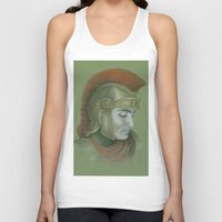 soldier Tank Tops featuring Soldier by Jane Stradwick