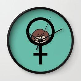 Feminist Daria Wall Clock