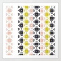 kilim Art Prints featuring Kilim 2 by 603 Creative Studio