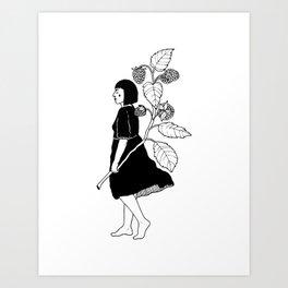 Malina Art Print