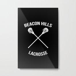 Beacon Hills Lacrosse Teen Wolf Metal Print