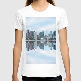 Boston reflection T-shirt
