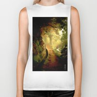 fairytale Biker Tanks featuring Fairytale by Nev3r