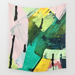 Hopeful[4] - a bright mixed media abstract piece Wall Tapestry