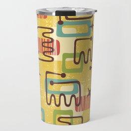 Mid Century Modern Abstract Pattern 938 Travel Mug