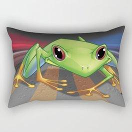 Look Both Ways Rectangular Pillow