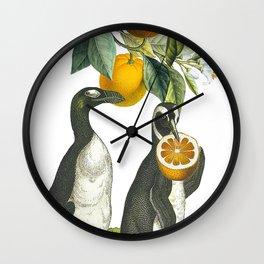 Oranges!!!!!!! Wall Clock