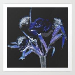 floralUV Art Print