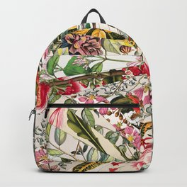 Vintage Blooming New York Backpack