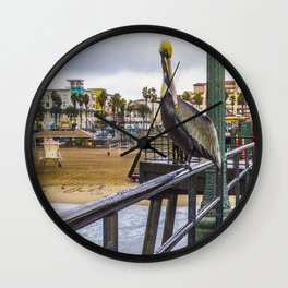 Surf City Life Wall Clock