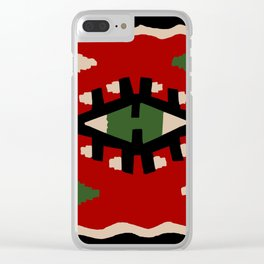 Kilim Clear iPhone Case