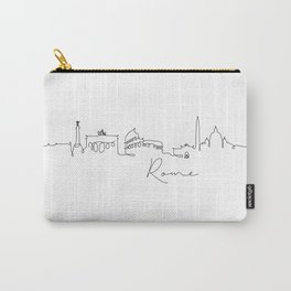 Pen line silhouette Rome Carry-All Pouch