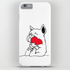 Frenchie Heart Slim Case iPhone 6 Plus