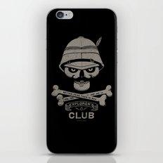 Explorer's Club iPhone & iPod Skin