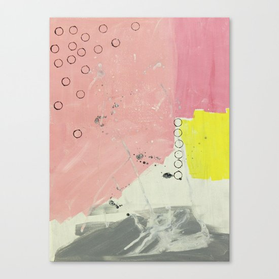 Abstract painting 2 Canvas Print