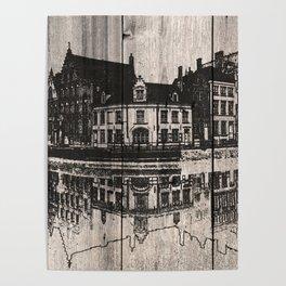 In Bruges, Belgium Poster