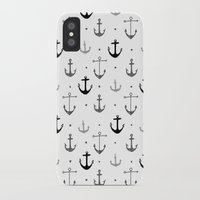 anchor iPhone & iPod Cases featuring Anchor by Miriam Sironi