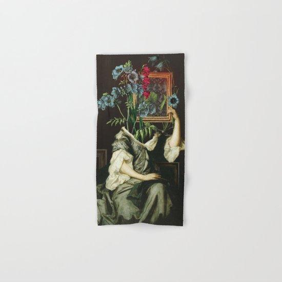 Florales Portrait Disaster Hand & Bath Towel