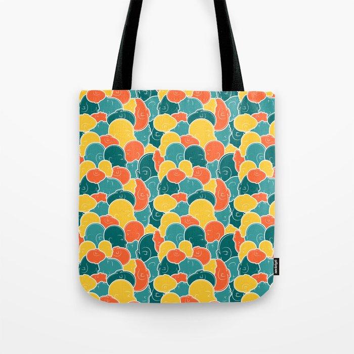 Smoosh Face Tote Bag