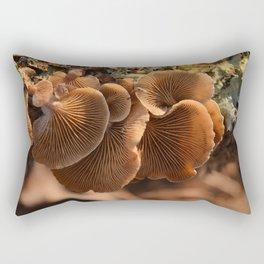 Among the Mushrooms 1 Rectangular Pillow