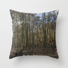 Winter Trees Throw Pillow