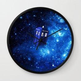TARDIS SPACE OF TIME Wall Clock