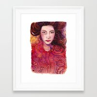 witch Framed Art Prints featuring WITCH by Verismaya