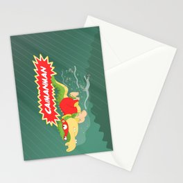 Caimanman Stationery Cards