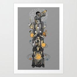 Ascending Astronomy Art Print